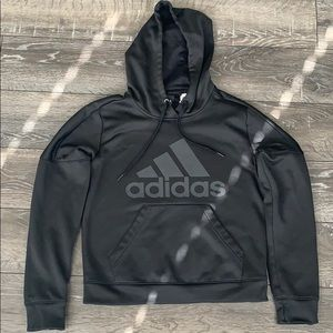 New condition black adidas women's hoodie